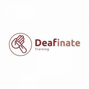 Deafinate Training logo